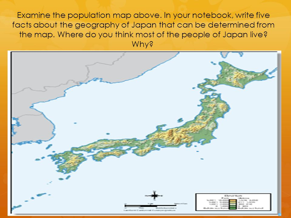 Population Density In Japan Ppt Video Online Download - Japan map facts