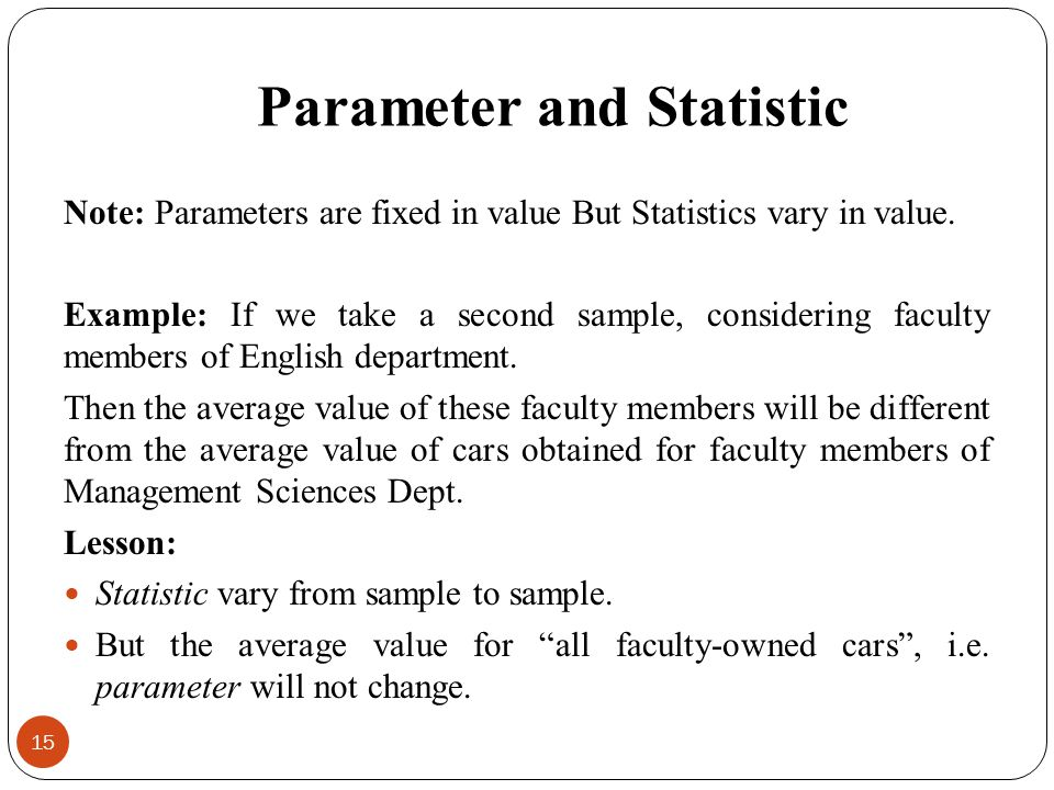 difference between statistic and statistics pdf