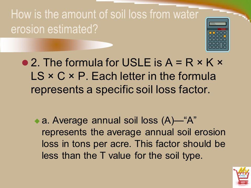 Animal plant soil science d2 3 soil erosion for Soil k factor