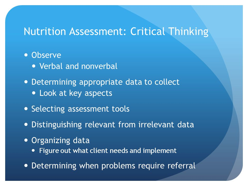 critical thinking tools of evaluation and analysis Evaluation tools and guides analysis and critical thinking are central to good practice in children's analysis and critical thinking in assessment.