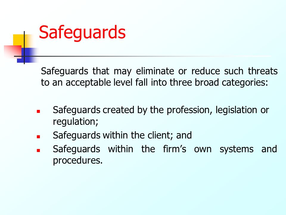 Designing Effective Controls, Security Safeguards and Governance by a Risk-Based Methodology