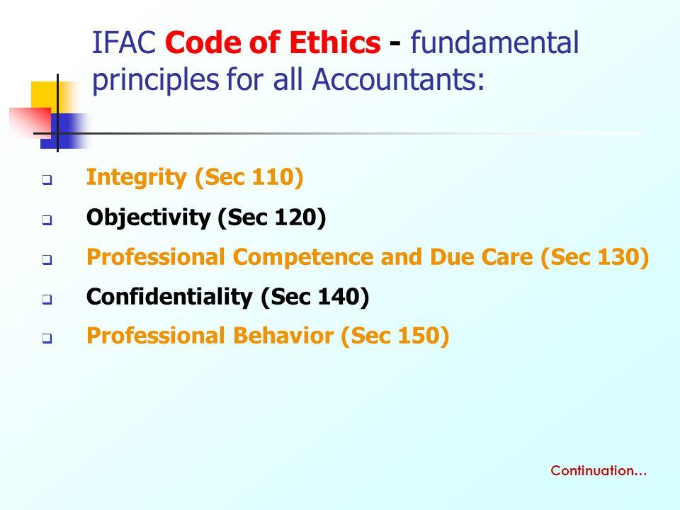 professional ethics essay