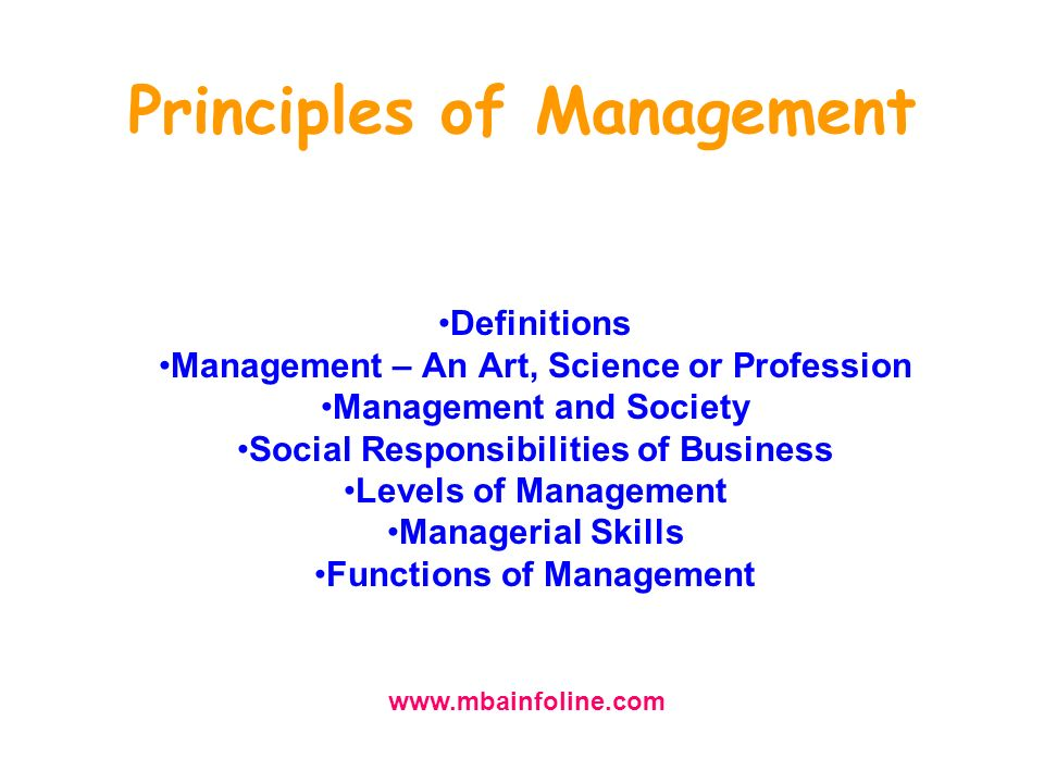 principles of business management [fall 2018 / bus101] whether you have worked in business for years or are brand new, having a well-rounded knowledge of all aspects of business is important for managers in well-informed decision- making this course is designed for students with little or no prior business knowledge it is an overview of major topics in business ranging from economics to trade and financial management to.