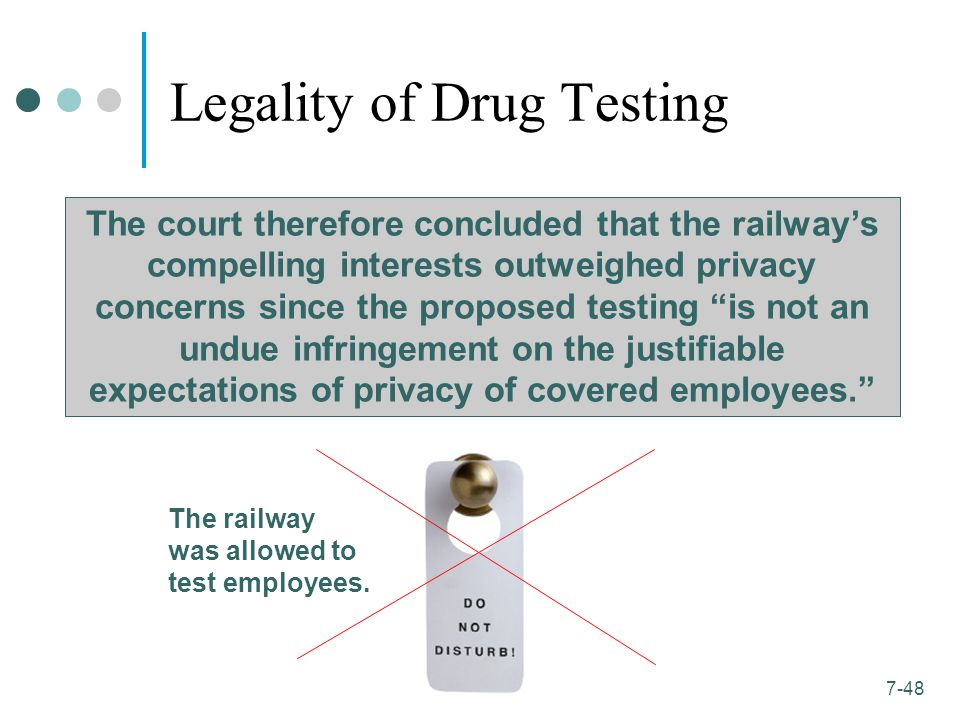 Reciprocal drug testing definition