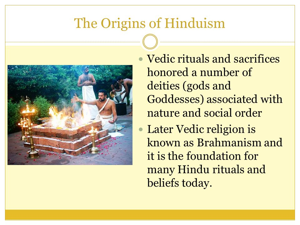The Origins of Hinduism