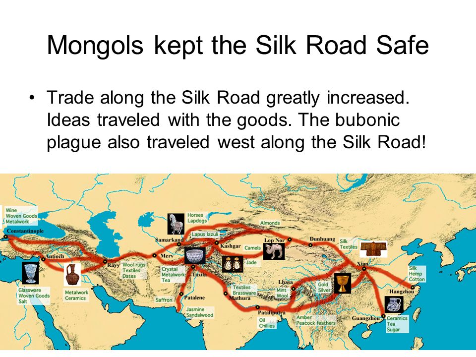 The Silk Route of the Mongols