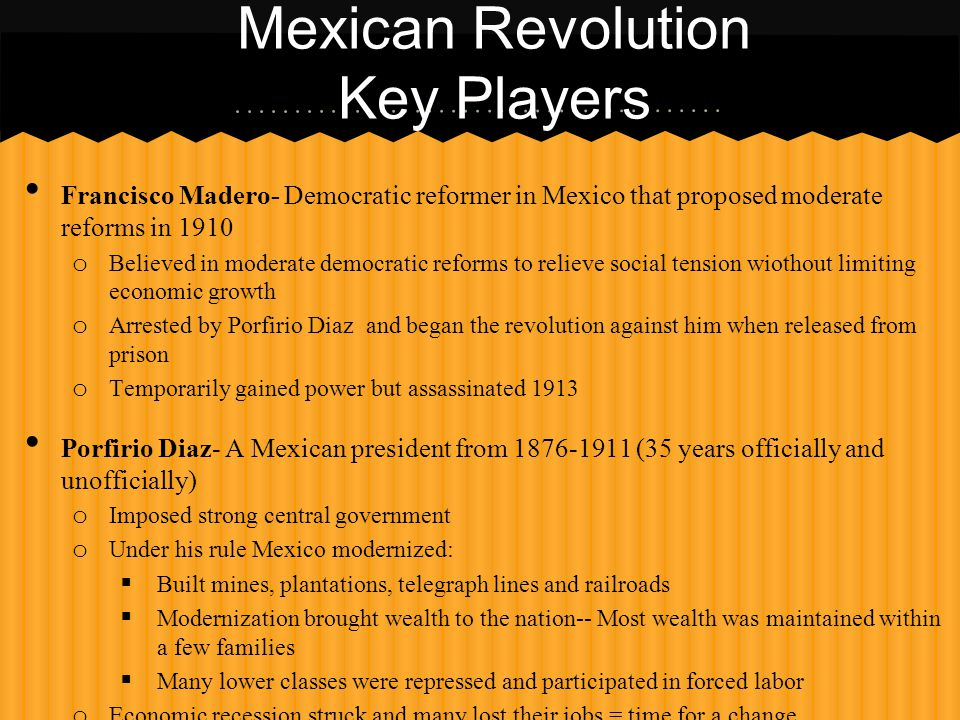 Mexican, Russian, and Chinese Revolutions - ppt video online download