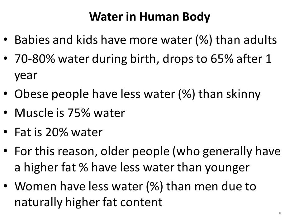 water in relation to human health - ppt download, Muscles