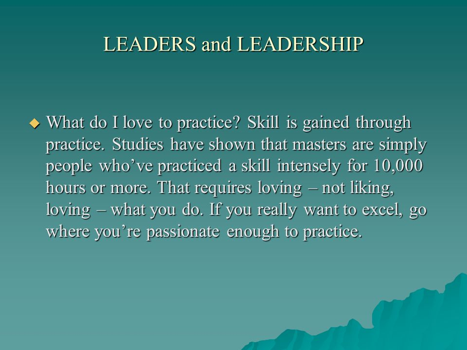what leaders really do What leaders really do by john p kotter reprint r0111f required reading r0111a barbara kellerman hbr survey r0111b personal histories: leaders remember the moments.