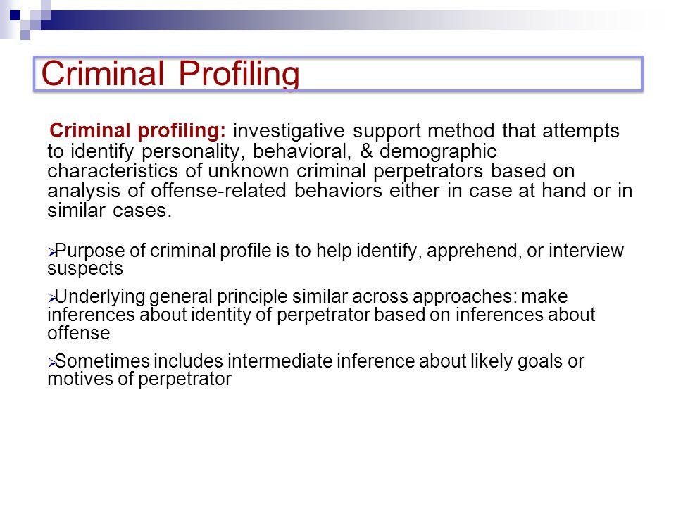 simon fraser university psyc professor ronald roesch ppt  24 criminal profiling