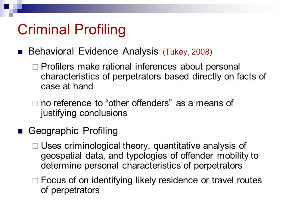 simon fraser university psyc professor ronald roesch ppt  29 criminal profiling behavioral