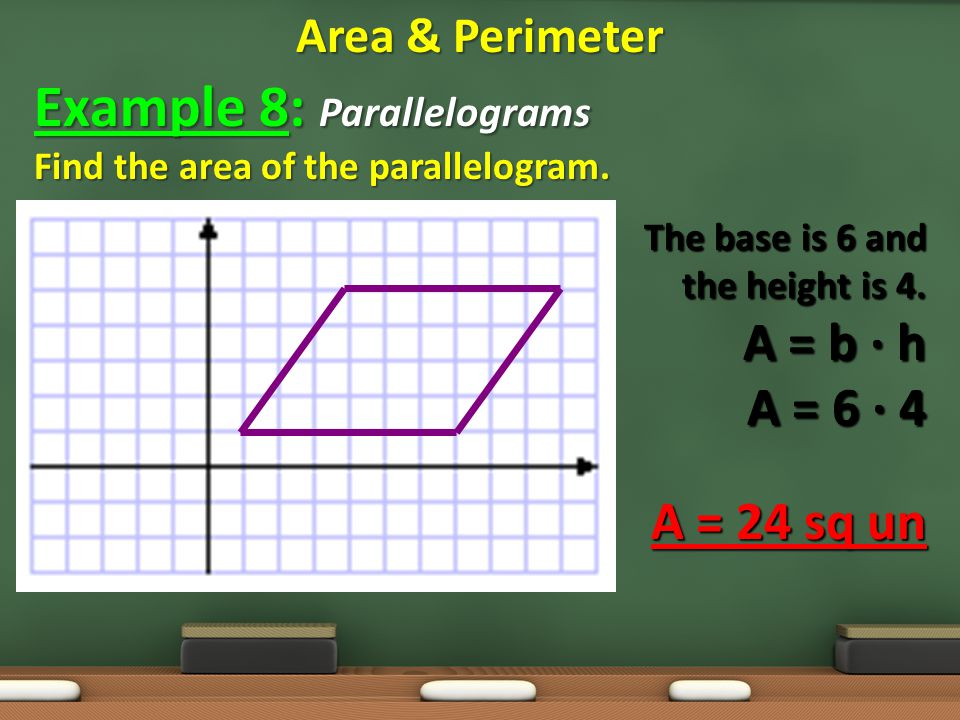 Example 8: Parallelograms