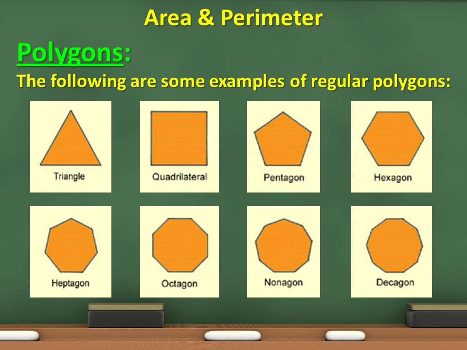 Polygons: Area & Perimeter