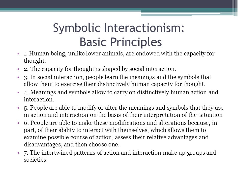 "sembolic interactionism ""charon's work is appropriate for undergraduate social psychology courses at introductory and advanced levels it can serve as an excellent introduction to symbolic interactionism even at."