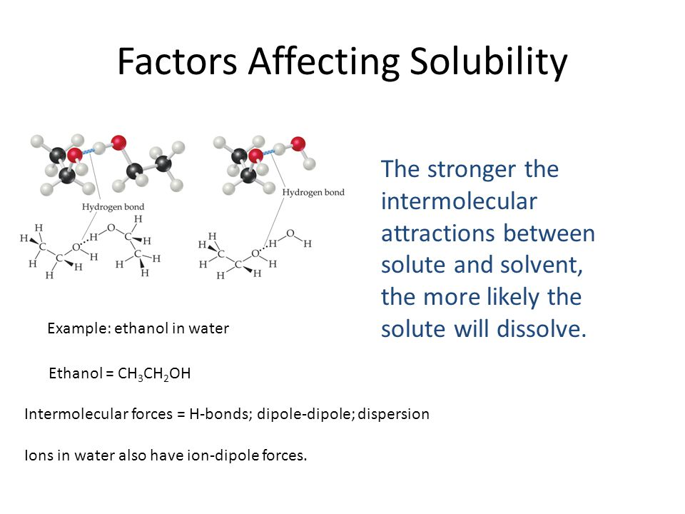 factors affecting solubility and colligative properties Solubility of a substance is its maximum amount that can be dissolved in a  specified amount  solutions and colligative properties c11202006.