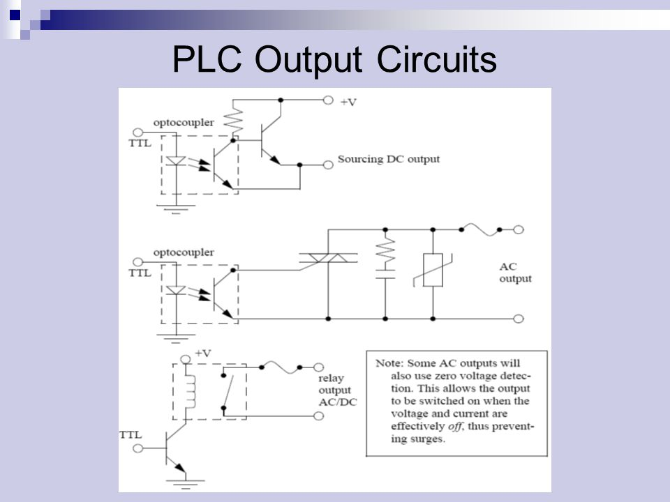 how to connect input and output devices to plc