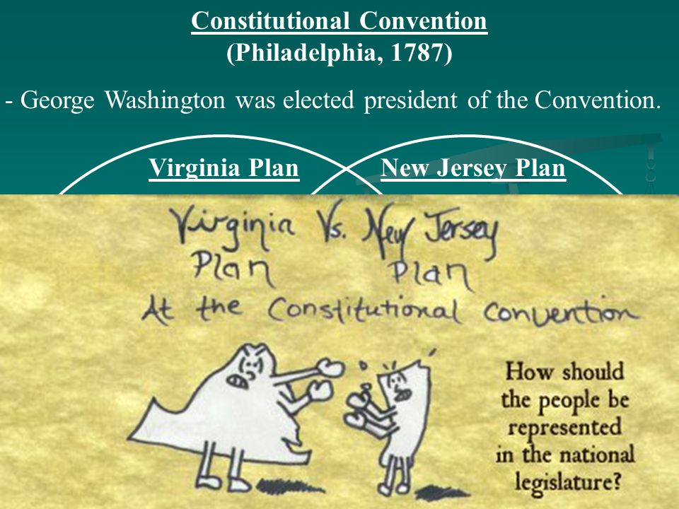 the constitutional convention the virginia and The virginia resolution not only specified the time, place, subject matter, and limitations of the convention, but virginia was the first state to explicitly urge other states to participate so the honor of calling the constitutional convention goes to virginia.