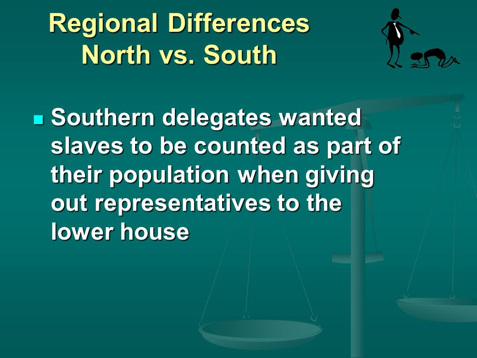 Regional Differences North vs. South