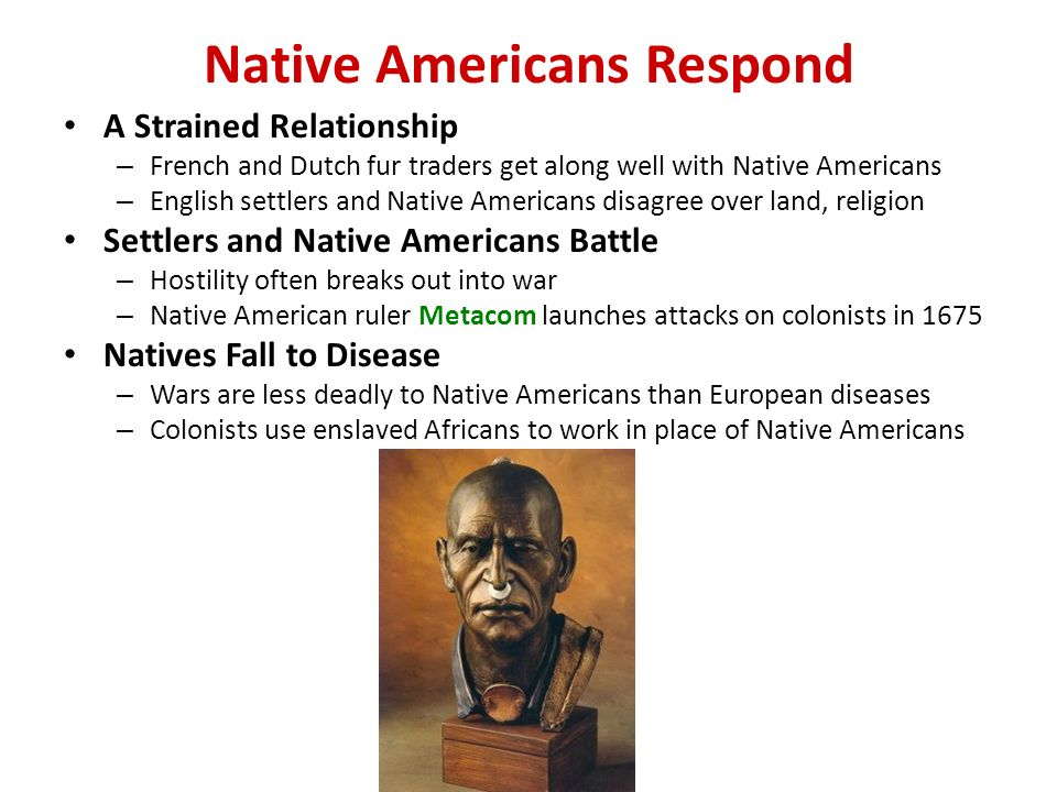 european settlers and native americans relationship