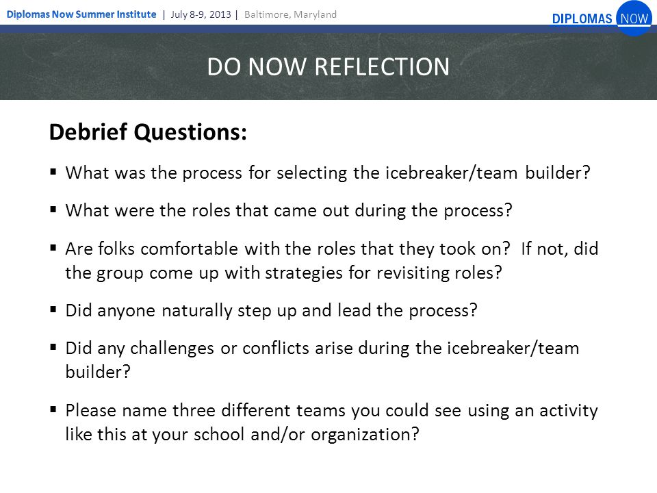 Team Building Questions For Meetings