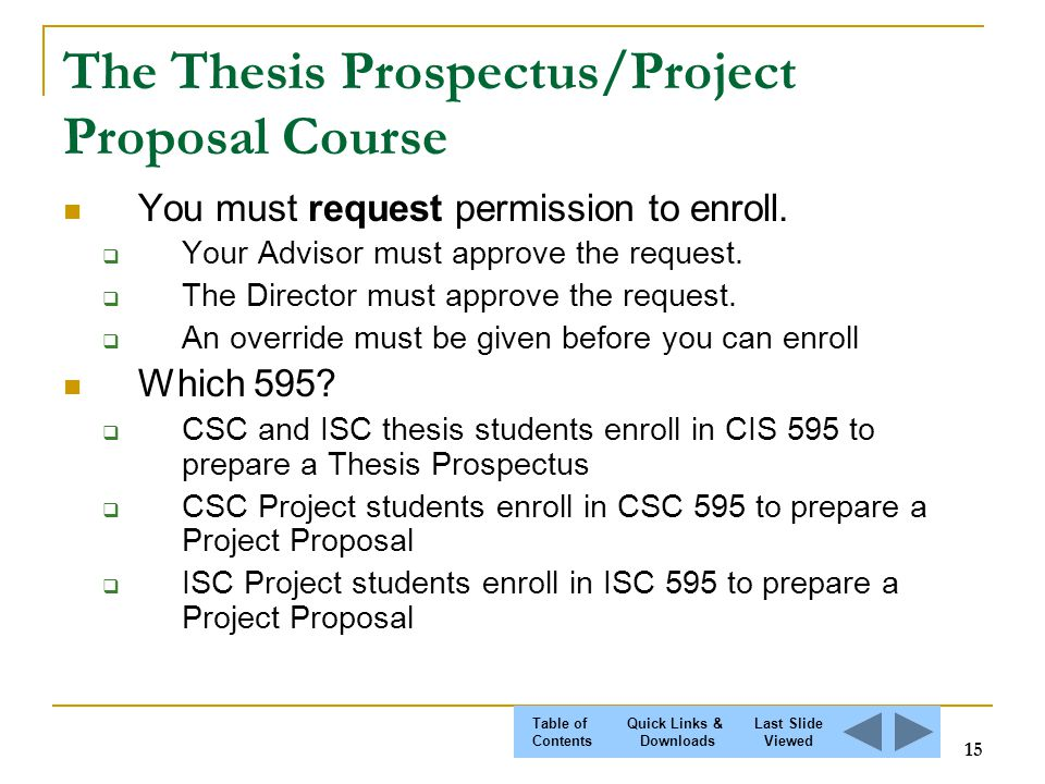 master thesis research proposal
