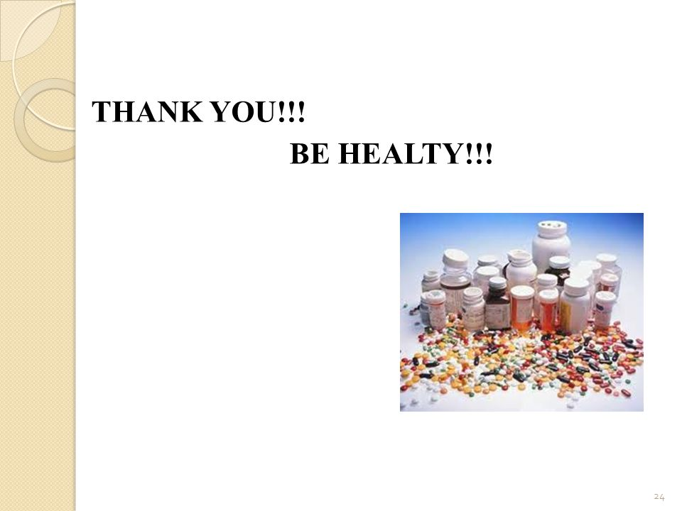 THANK YOU!!! BE HEALTY!!!