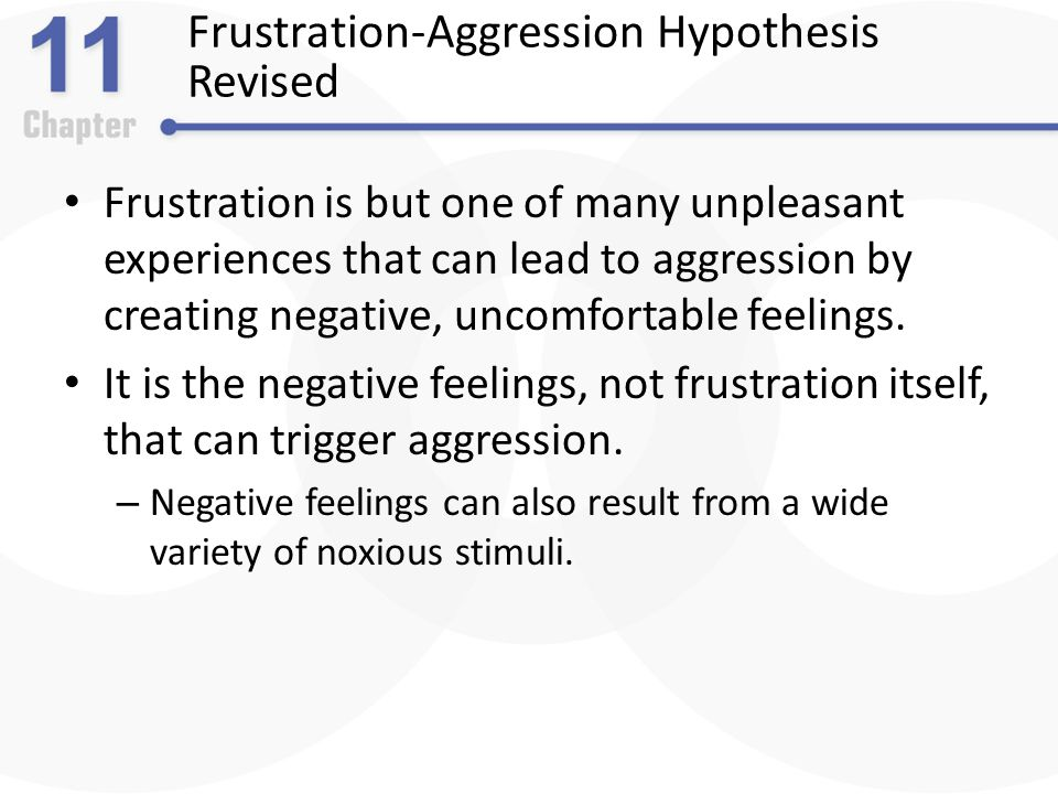 What Is the Frustration Aggression Theory?