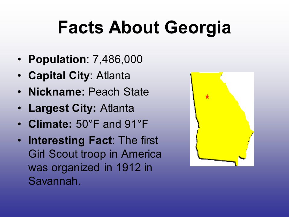The southern states part 2 ppt video online download for Fun facts about america