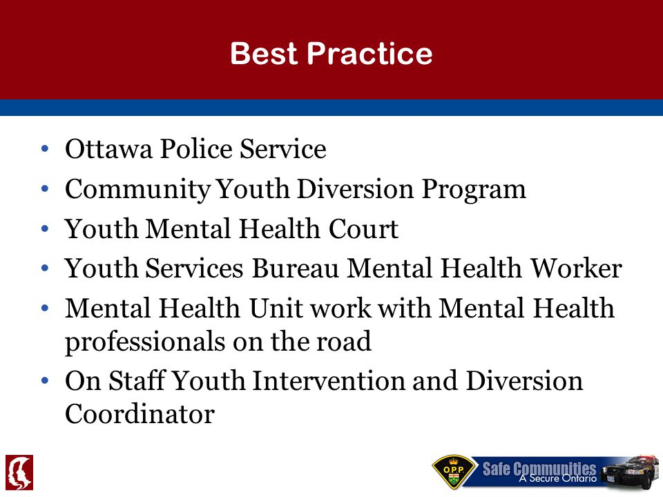 Child and youth mental health the realities dr ppt download for Youth bureau ottawa