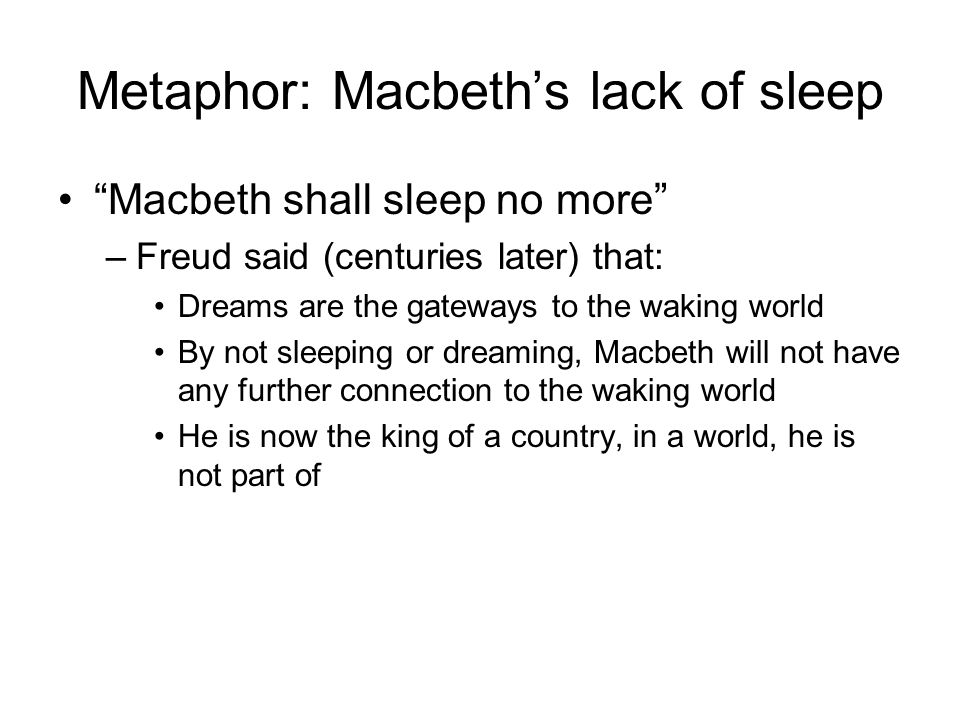 """macbeth dreams visions and hallucinations rereading In a word, he proposes a rereading of cultural and aesthetic codes,  """"we would rather believe in our visions of the world, which are pure hallucinations,."""