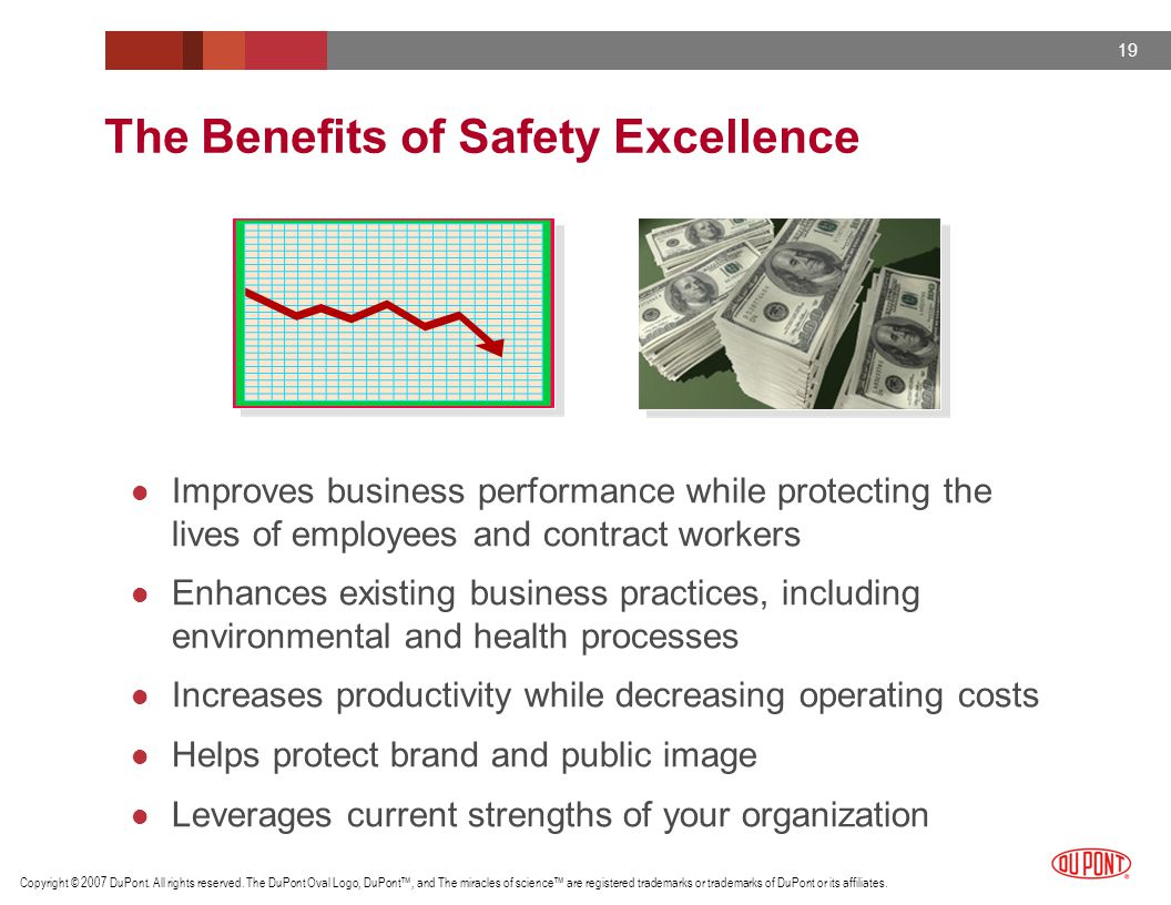 The Benefits of Safety Excellence