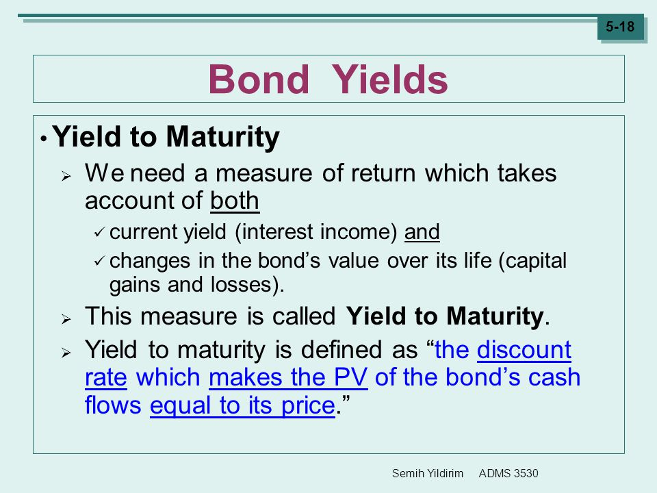 Understanding Bond Prices and Yields
