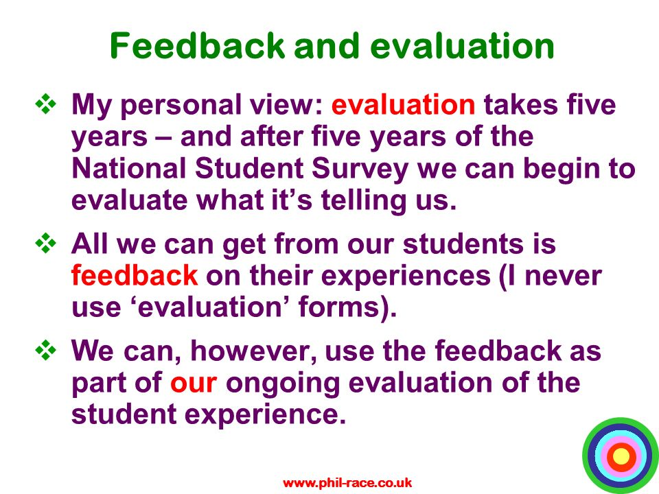 An examination of the peer feedbacks on my learning experiences in teaching students