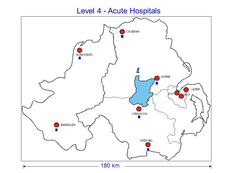Level 4 - Acute Hospitals