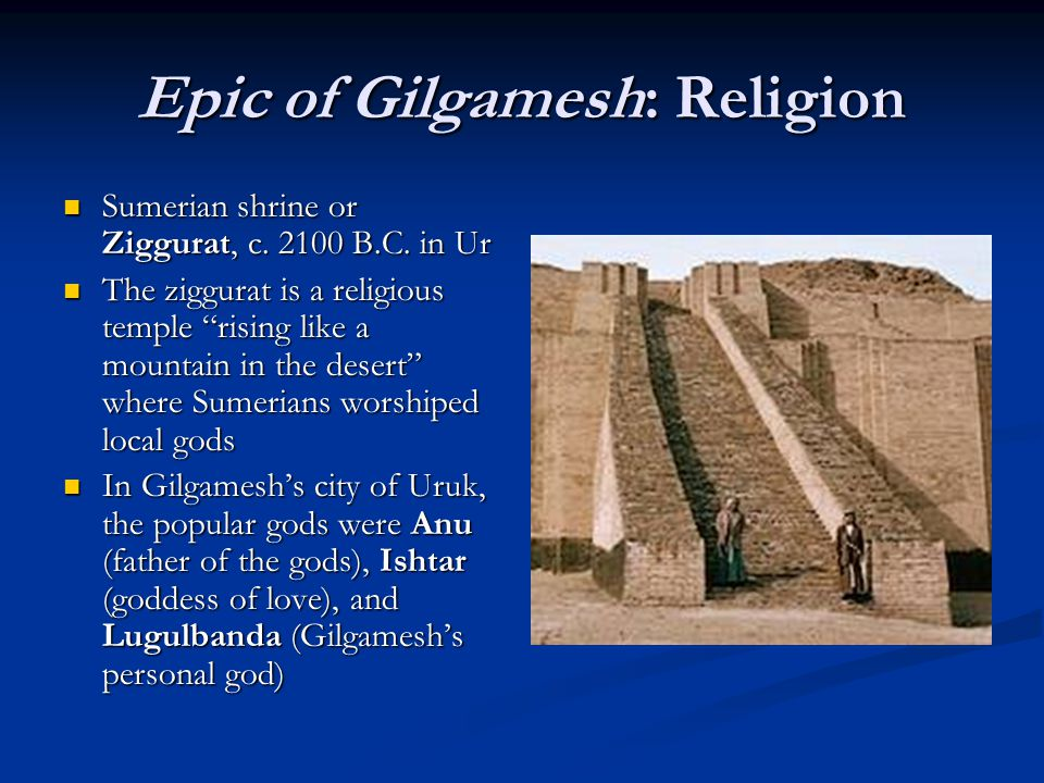 an analysis of a character gilgamesh a sumerian epic story Befitting the literary value of the epic of gilgamesh, the multilayered history of the character of gilgamesh himself is fascinatingly derived from five sumerian poems (dating from circa 3rd millennium bc) that portray a king of uruk named 'bilgames' to that end, historians are aware of the existence of few such independent stories of.