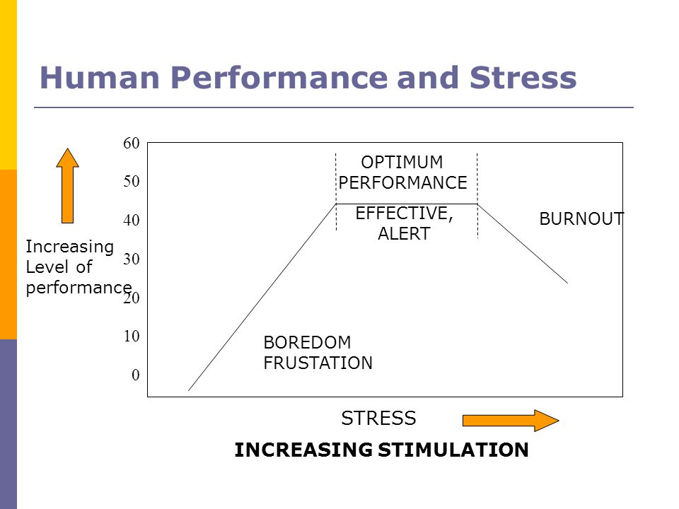 Human Performance and Stress