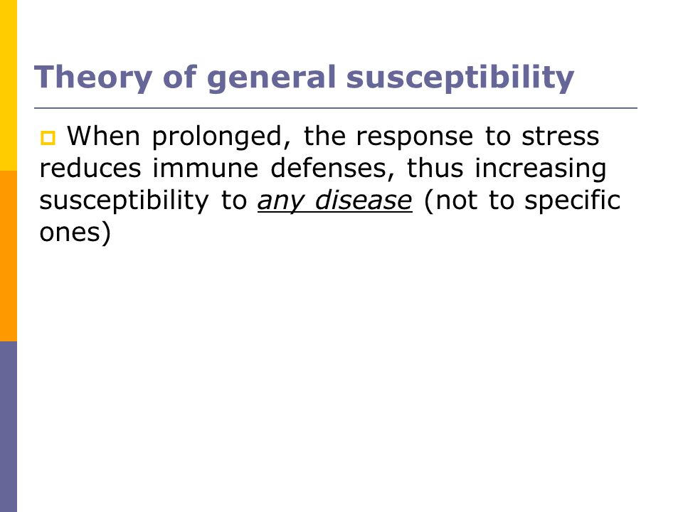 Theory of general susceptibility