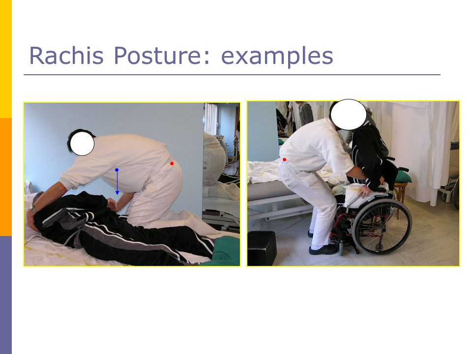 Rachis Posture: examples