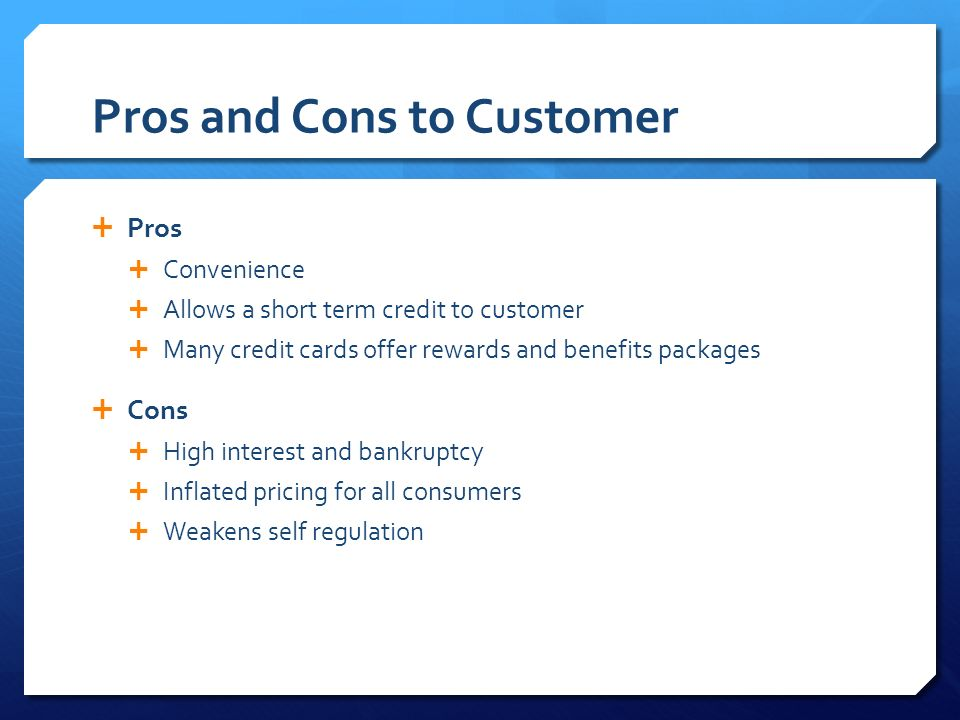 pros and cons of credit cards essay Pros and cons of credit cards essay, creative writing graduate programs new york city, go to do your homework.