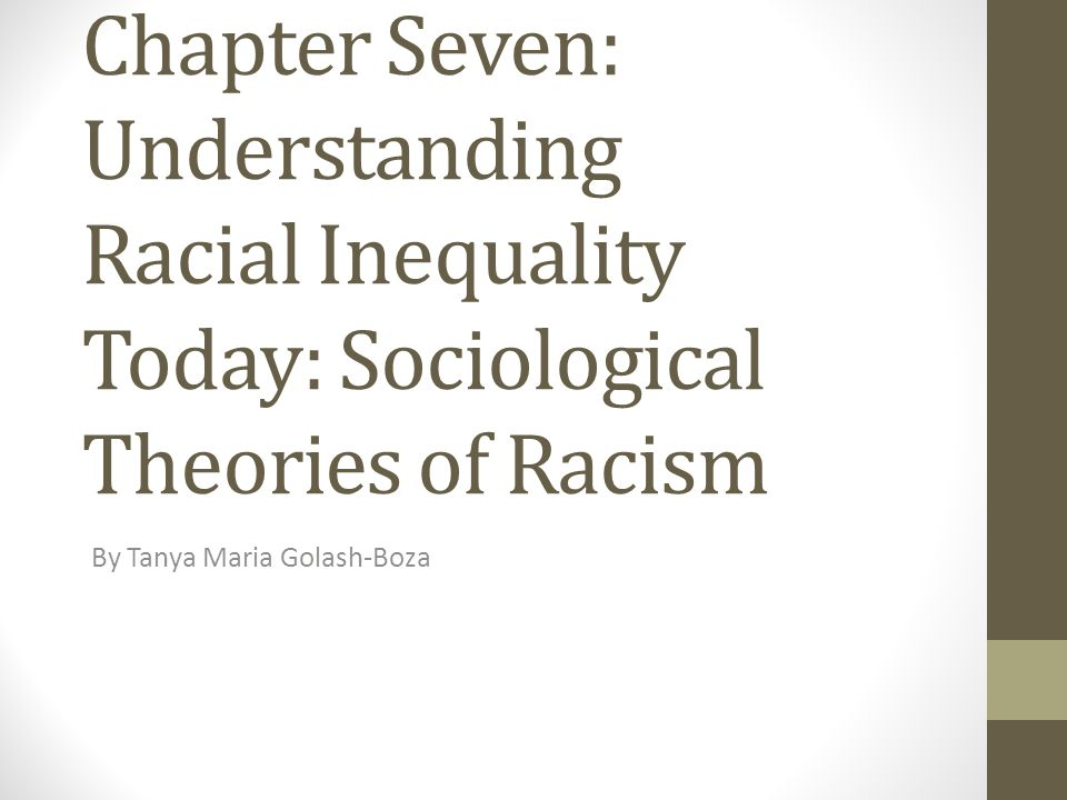 Sociological explanations of ethnic inequality Essay