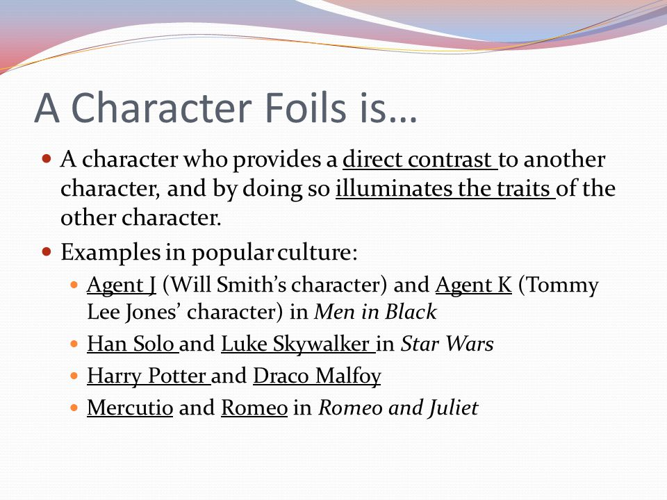 The Foil Character in Shakespeare : Laertes, Claudius and Fortinbras