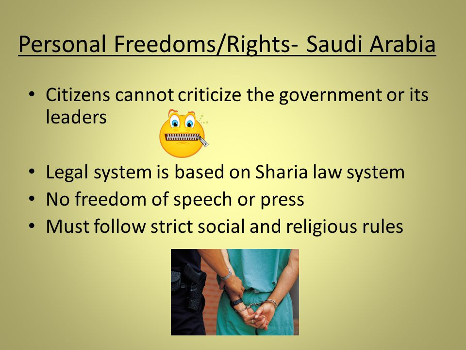 An overview of the religion and government in saudi arabia