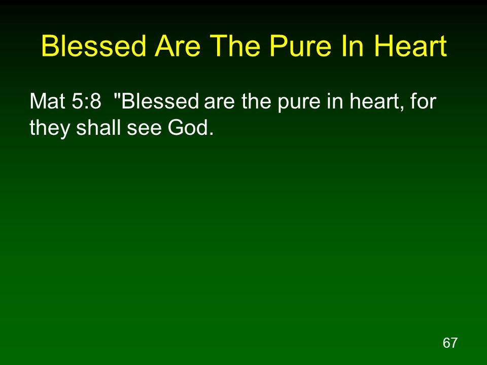 Lesson 1 The Beatitudes Character of Kingdom Citizens ...
