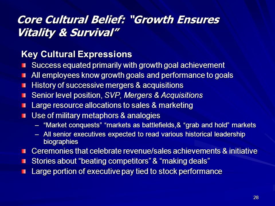 organizational growth and survival key factors The growth phases and survival of product manufacturing b2b and b2c international new ventures from finland international business master's thesis.