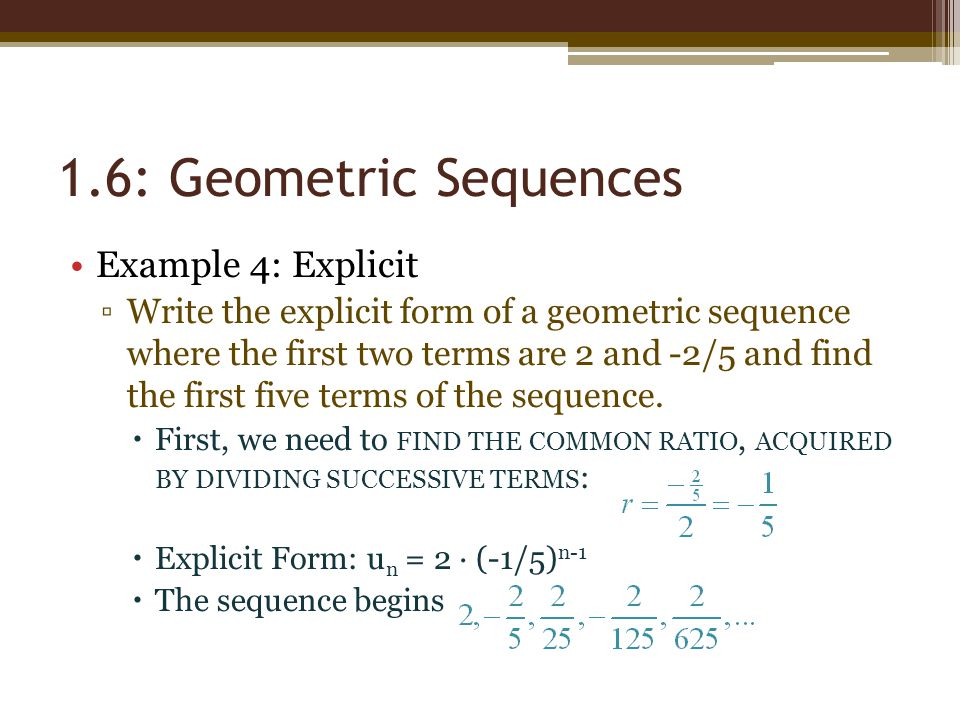 Chapter  Number Patterns  Geometric Sequences  Ppt Video