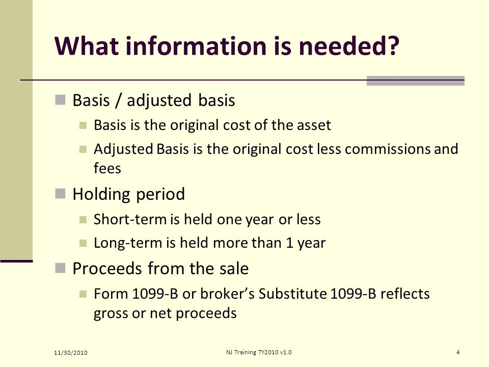 Income Capital Gain Or Loss Ppt Video Online Download