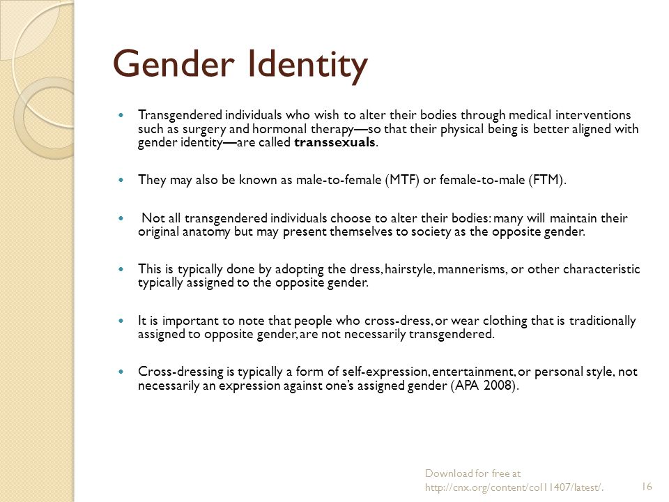Sociology Chapter 12 Gender Sex And Sexuality Prof Dr