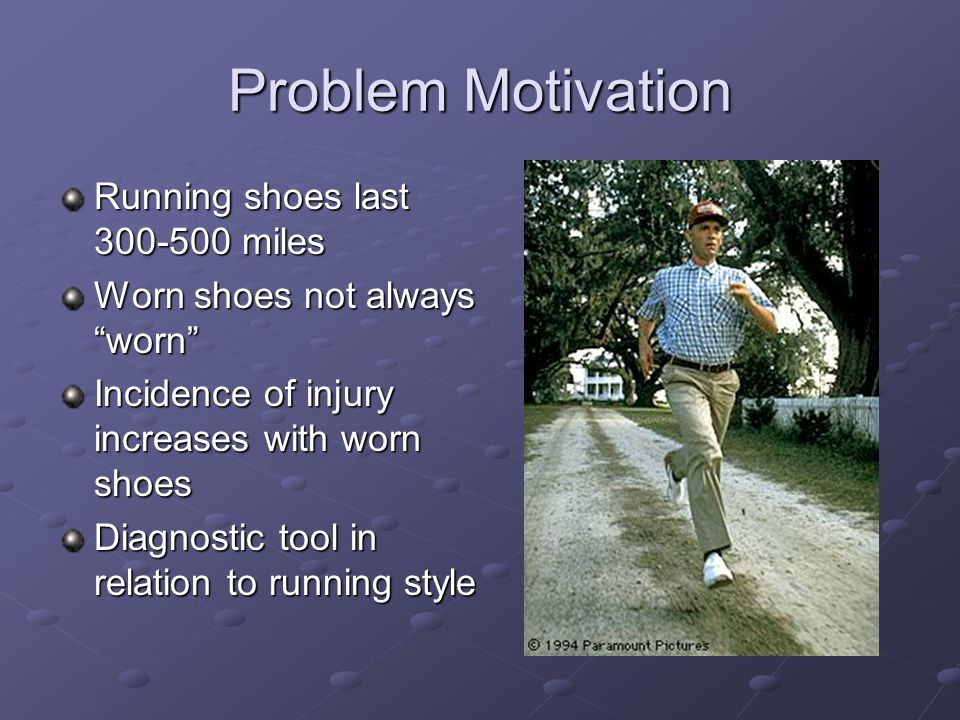 Life Of Running Shoes With Mechanical Midsole
