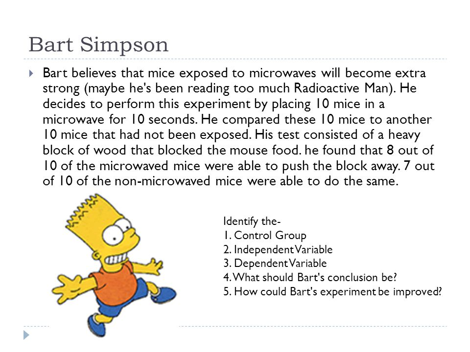 The Scientific Method Meets the Simpsons ppt download – Simpsons Scientific Method Worksheet