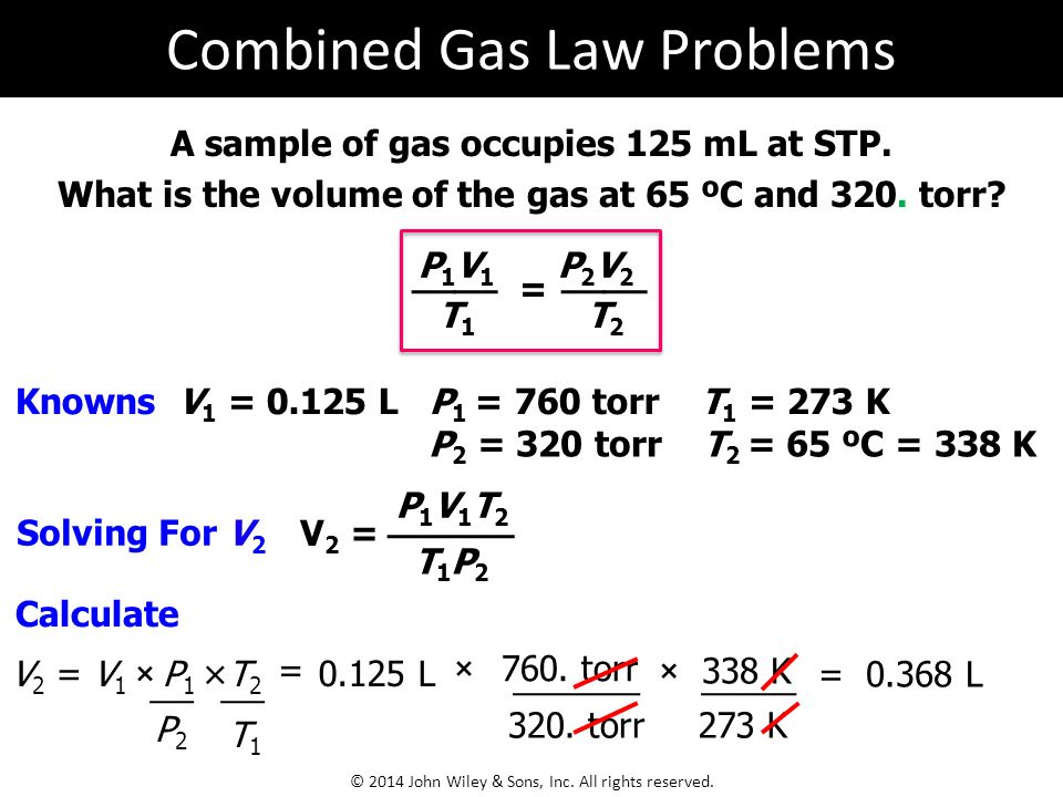 Gas Law Problems Custom Paper Service